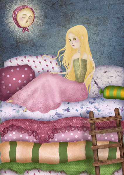 The Princess and The Pea - Monika Schoffmann