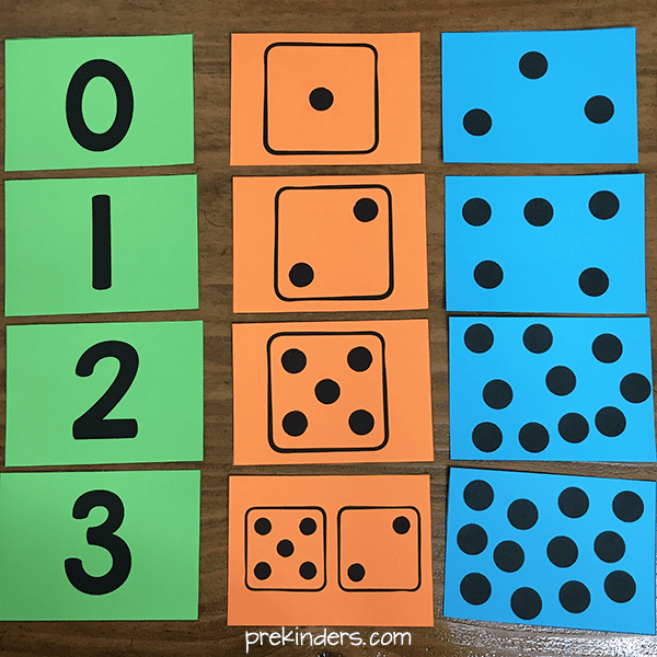 Numeral Cards & Number Dot Cards Printables
