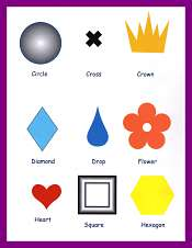 Shapes Vocabulary For Kids