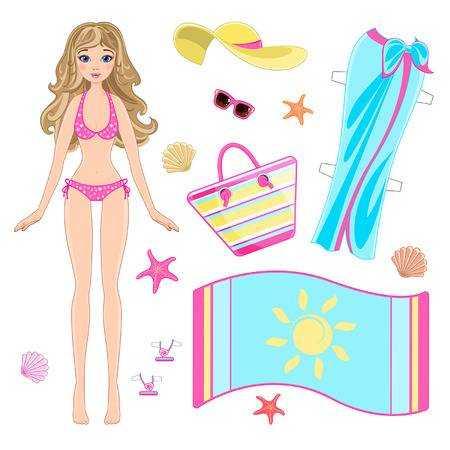 бумажные красивые куклы с одеждой для вырезания бумажные