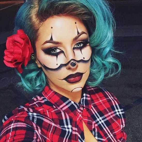 Хэллоуин раскраска лица – Как раскрасить лицо на Хэллоуин ...