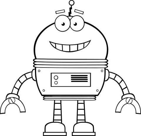 раскраска роботы для детей раскраски роботы распечатать