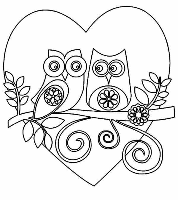 раскраски распечатать сердечко раскраска сердце скачать и
