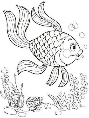 Рисунок на тему сказка о рыбаке и рыбке – Как нарисовать ...